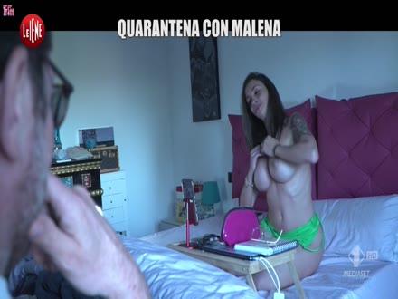 Malena La Pugliese Nuda a Le Iene